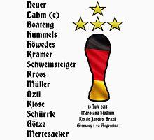 Germany 2014 World Cup Final Winners Unisex T-Shirt