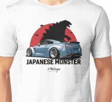 Nissan GTR. Japanese Monster (grey-blue) Unisex T-Shirt