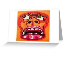 Brainblast Greeting Card
