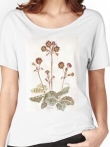 Primula 'Gold Lace' - Botanical Women's Relaxed Fit T-Shirt