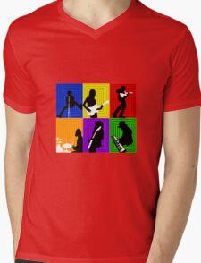 Cage The Elephant Pop Art  Mens V-Neck T-Shirt
