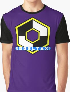 Rebel Taxi logo 3 Graphic T-Shirt