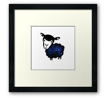 Black Sheep Nebula Framed Print