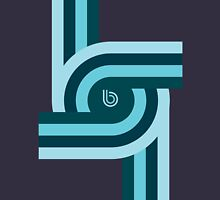 Twisting Bauhaus Unisex T-Shirt