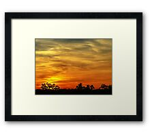 Sunset 3 Framed Print