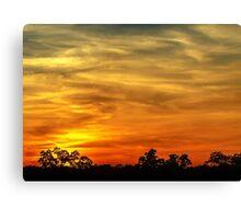 Sunset 3 Canvas Print