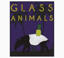 Glass Animals Tapir One Piece - Short Sleeve