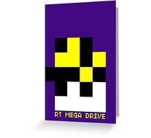 Pixel Pan Greeting Card