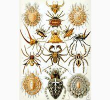 Ernst Haeckel Arachnid Drawings - Creepy Crawlies Unisex T-Shirt