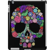 Sugar Skull  Floral  iPad Case/Skin