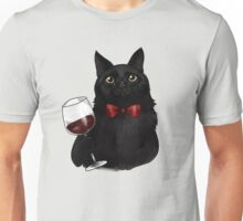 Wine Cat Unisex T-Shirt