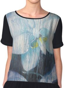 Orchid through the Window Chiffon Top