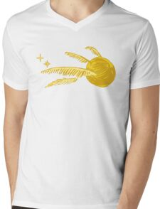 golden snitch Mens V-Neck T-Shirt