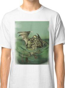 Cthulhu Painting Classic T-Shirt