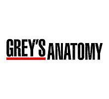 Grey's Anatomy Photographic Print