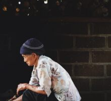 Wise Woman - Coffee Plantation Sticker