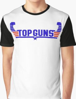 Top Guns Men's Top Gun T-shirt - Many Colors