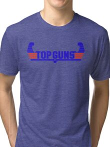 Top Guns Tri-blend T-Shirt