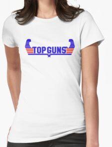 Top Guns Womens Fitted T-Shirt