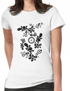 Cool Enchanting Fish Womens Fitted T-Shirt