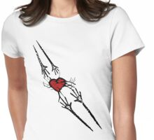 Reach for Love T-Shirt Womens Fitted T-Shirt
