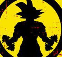 Gokus Gym Grunge Look Sticker