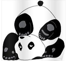 Playful Panda Poster