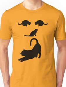 Funny Cats Face - Cute cats Unisex T-Shirt