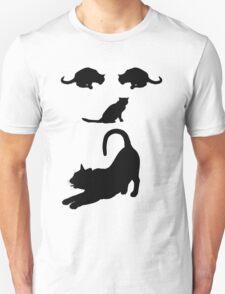 Funny Cats Face - Cool Cat's T-Shirt  T-Shirt