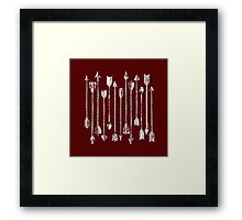 ARROWS  up down Framed Print