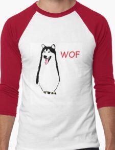 WOF PENGUIN Men's Baseball ¾ T-Shirt