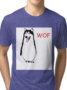 WOF PENGUIN Tri-blend T-Shirt