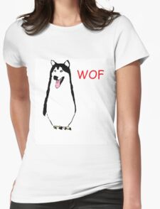 WOF PENGUIN Womens Fitted T-Shirt