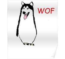WOF PENGUIN Poster