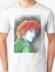 Abstract Bilbo Baggins Traditional Protrait T-Shirt