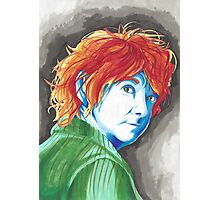 Abstract Bilbo Baggins Traditional Protrait Photographic Print