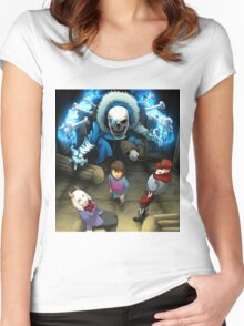 Persona Tale - Parody Women's Fitted Scoop T-Shirt