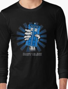 Don't Blink - Doctor Who Long Sleeve T-Shirt