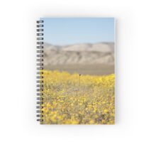 Golden Fields Spiral Notebook