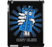 Don't Blink - Doctor Who iPad Case/Skin