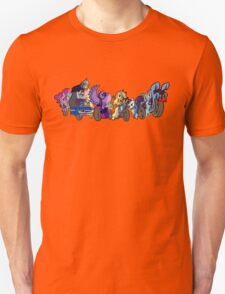 MARES OF HARMONY (ALL) (N/B) T-Shirt