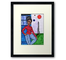 Make sure you get that thingy in the picture. Framed Print