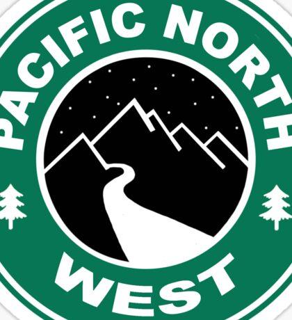 Pacific North West Starbucks Coffee PNW Sticker