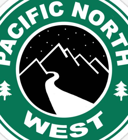 Pacific North West Starbucks Coffee PNW Sticker