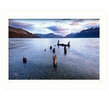 Glenorchy - New Zealand Art Print