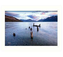 Glenorchy - New Zealand Art Print