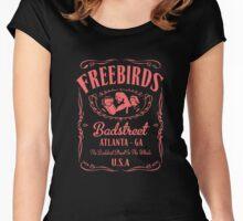 Fabulous Freebirds Jack Daniels-style attire (in pink!) Women's Fitted Scoop T-Shirt