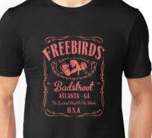 Fabulous Freebirds Jack Daniels-style attire (in pink!) Unisex T-Shirt