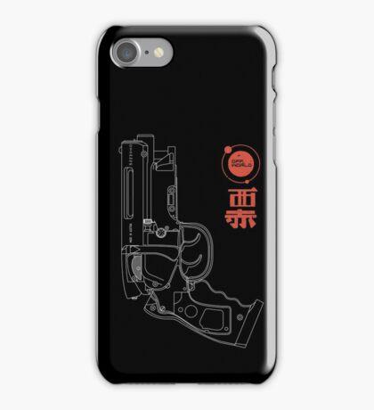Blaster - white iPhone Case/Skin