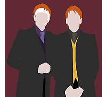 Weasley Twins Photographic Print